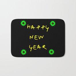 happy new year 11 Bath Mat