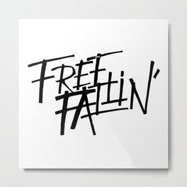 free fallin' Metal Print