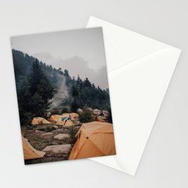 Himalayan Campsite Stationery Cards