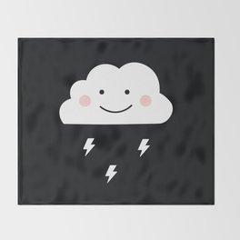 Cloud & Thunder Throw Blanket