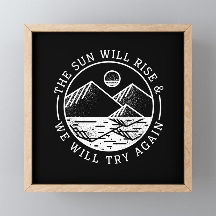 truce II Framed Mini Art Print