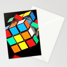 Cubic Cube Stationery Cards