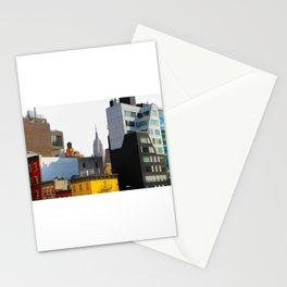 New York City - High Line to Empire Stationery Cards