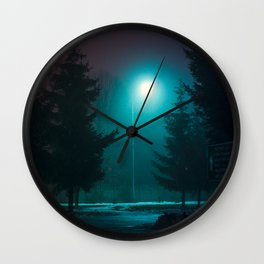 Silence of the Lamps Wall Clock