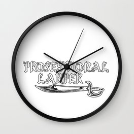 Larping Larper Larps Play Live Action  Games Gift  Wall Clock