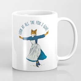 Look At All The Fox I Give - I Coffee Mug