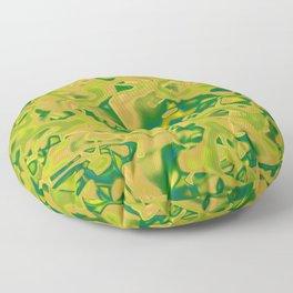 Abstract 319 QR Floor Pillow