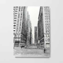 Madison Avenue, Chicago Metal Print