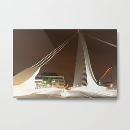 Samuel Beckett Bridge, Dublin Metal Print