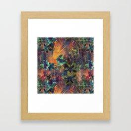 Haleiwa Tropical Orange Framed Art Print