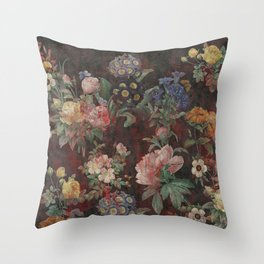 Old Fancy Throw Pillow