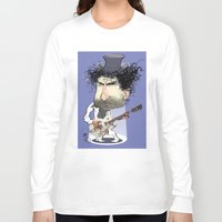 bob dylan Long Sleeve T-shirts featuring Bob Dylan by drawgood