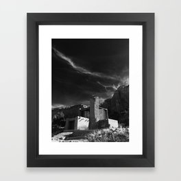 Monastery at Christ in the Desert Framed Art Print