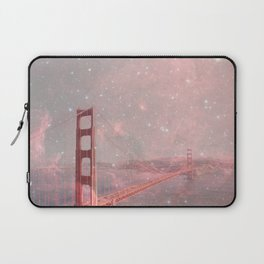 Stardust Covering San Francisco Laptop Sleeve