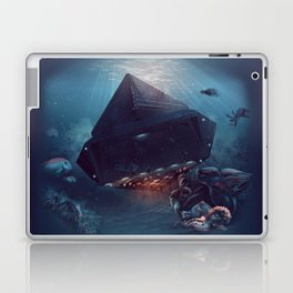 octopus Paul surprised Laptop & iPad Skin