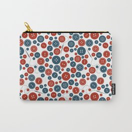 Lost Buttons Carry-All Pouch