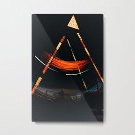 Light of Lava Metal Print
