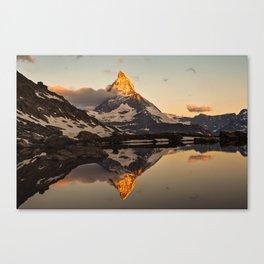 Swiss Alps Journey Canvas Print