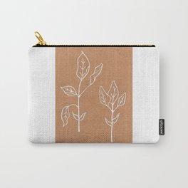 Sage Art Print Design —Herbal Botanical Drawing — Art Print —White Ink Sage Art Print Carry-All Pouch