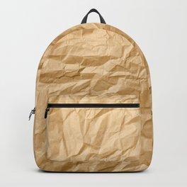 Paper trash Backpack