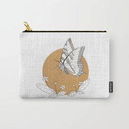 Butterfly & Primrose Carry-All Pouch