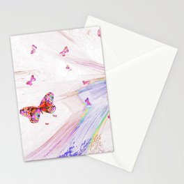 """""""Flash Dream ~ Butterflies"""" Stationery Cards"""