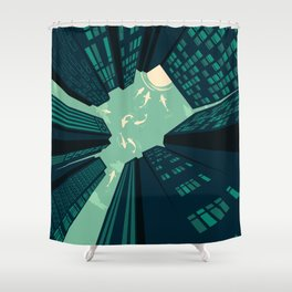 Solitary Dream Shower Curtain