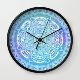 Blue Journey Wall Clock