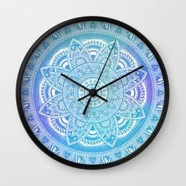 Blue Journey Wall Clock