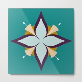 Compass Rose 1 Metal Print