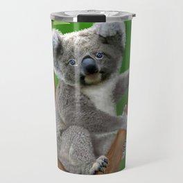 Blue-eyed Baby Koala Bear Travel Mug