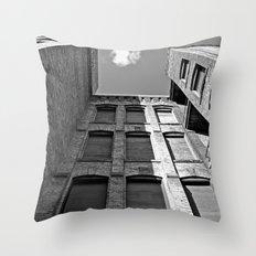 Historic Tacoma architecture Throw Pillow