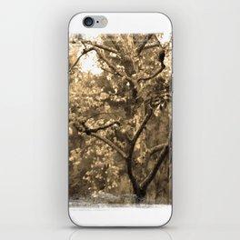 Tree of Hearts - Sepia iPhone Skin