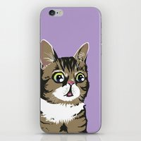 lil bub iPhone & iPod Skins featuring Lil Bub by Noelle Posadas