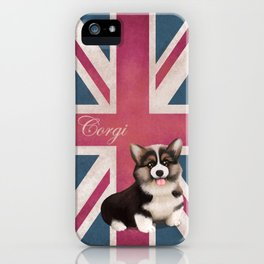 Royal Corgi Baby iPhone Case
