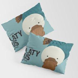 Hello Platypus Pillow Sham