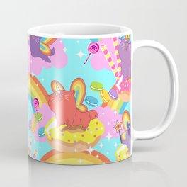 Meowgical Blue Caticorn print Coffee Mug
