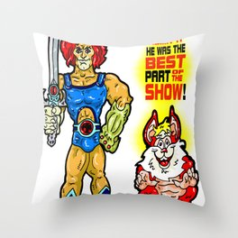 SNARF!  The greatest of ALL The Thundercats...  Way cooler than Lion-O! Throw Pillow