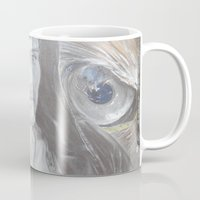 jared leto Mugs featuring Jared Leto by Equalsnine-art