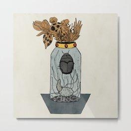 Glass beetle Metal Print
