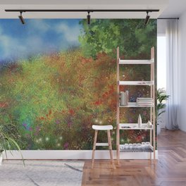 Wildflower Meadow Wall Mural