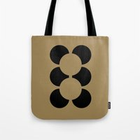 teddy bear Tote Bags featuring TEDDY BEAR by THE USUAL DESIGNERS