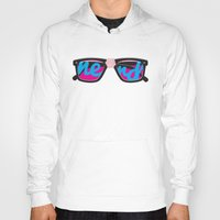 nerd Hoodies featuring Nerd by Aaron Synaptyx Fimister