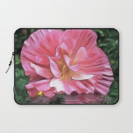 Pale Cistus with Reflection Laptop Sleeve