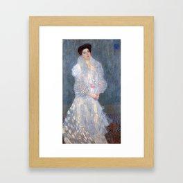 """Gustav Klimt """"Portrait de Hermine Gallia"""" Framed Art Print"""