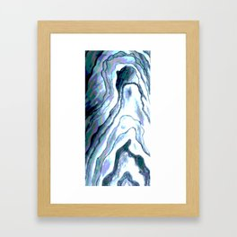 Shades of Cool Framed Art Print