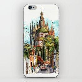 Calle Aldama, San Miguel de Allende iPhone Skin