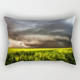 Inflow - Incredible Storm in Southwest Oklahoma Rectangular Pillow