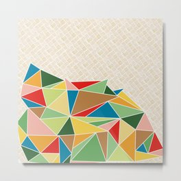 Triangle Heap Metal Print