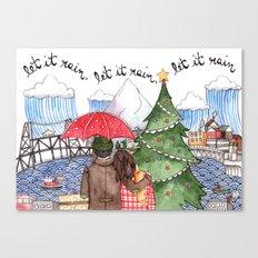 PNW Christmas Canvas Print
